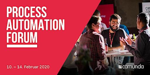 Process Automation Forum by Camunda - Zürich
