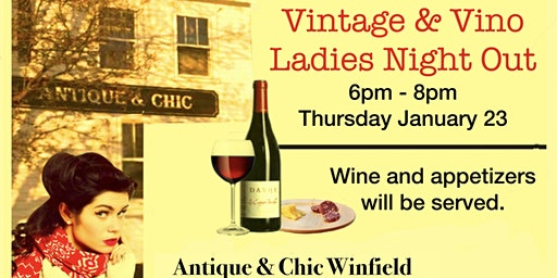 Vintage and Vino Ladies Night Out