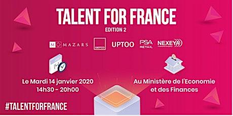 Talent For France 2 billets