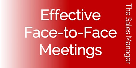 Effective Face-to-Face Meetings tickets
