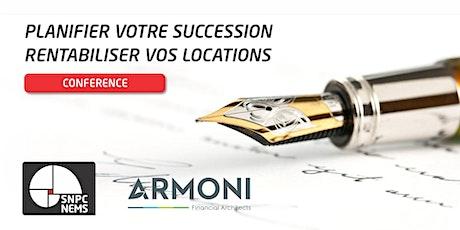 MONS - Planifiez votre succession et rentabilisez vos locations billets