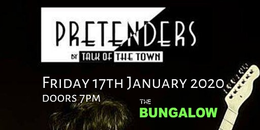 Talk of the Town - Europe's only tribute to the music of Chrissie Hynde and The Pretenders.