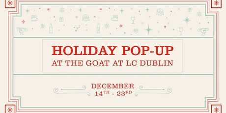 Holiday Pop Up Party at The Goat tickets