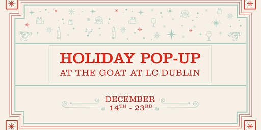 Holiday Pop Up Party at The Goat