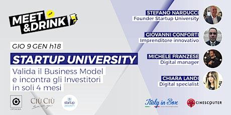 Startup University biglietti