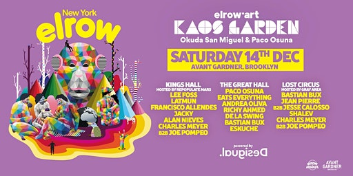 elrow Art goes to New York!