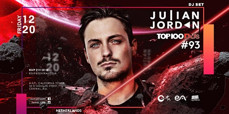 Zentral X EA Present: Julian Jordan(Top 100 DJS #93) tickets