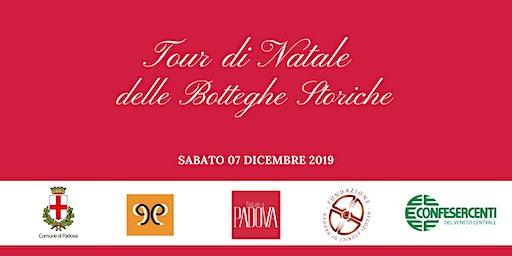 3° Tour di Natale delle Botteghe Storiche