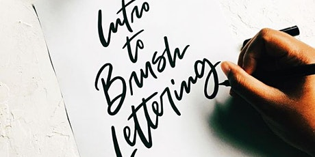Intro to Brush Lettering tickets