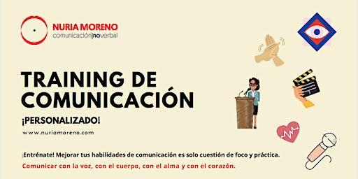 Training de comunicación personalizado