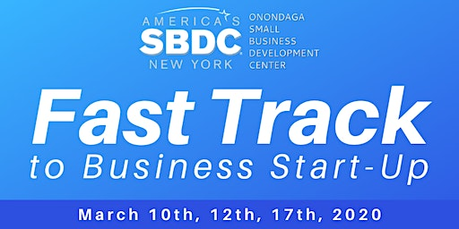 Fast Track to Business Start-Up Workshop - March 2020