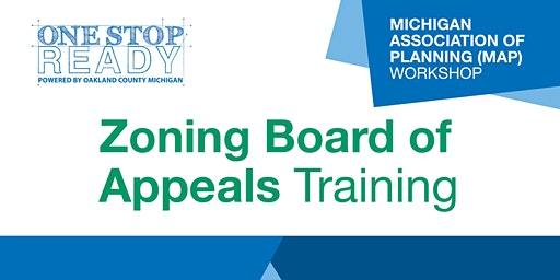 Zoning Board of Appeals Training