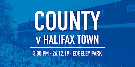 #StockportCounty vs F.C. Halifax Town