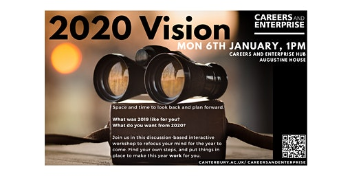 2020 Vision (bringing clarity to your year ahead)
