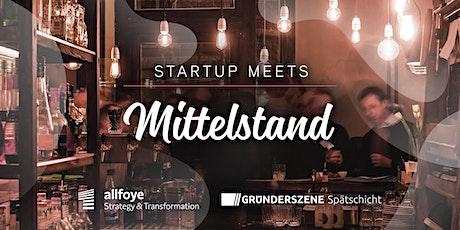 Startup meets Mittelstand - Köln - 05.03.2020 Tickets