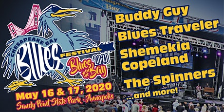 Chesapeake Bay Blues Festival POSTPONED to MAY 2021 tickets