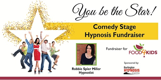 3rd Annual Comedy Stage Hypnosis Food4Kids Fundraiser