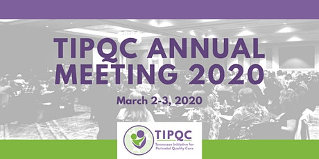 TIPQC Annual Meeting 2020 tickets