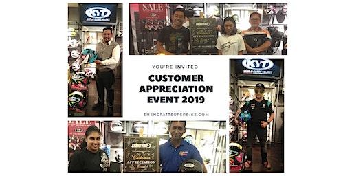 Customer Appreciation Event By Sheng Fatt 2019