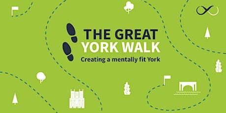 The Great York Walk 2020 tickets
