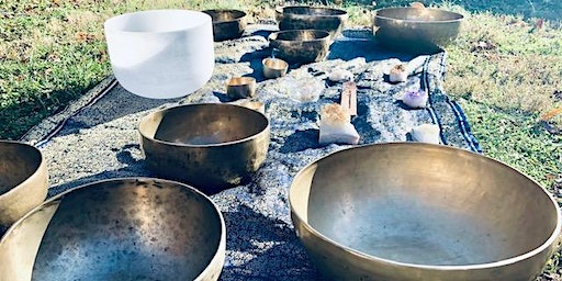 Sound Bath with Gongs, Crystal and Metal bowls