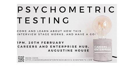 Psychometric Testing Workshop tickets