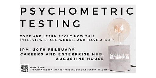 Psychometric Testing Workshop