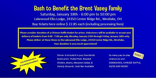Bash to Benefit Brent Vasey Family