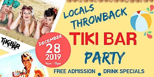 Locals Throwback Tiki Bar Party at Postcard Inn