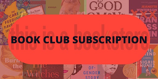 this is a book club subscription