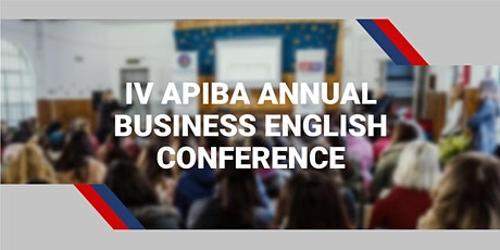 IV APIBA Business English Annual Conference entradas