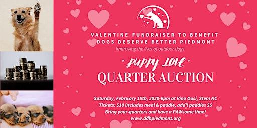Puppy Love Quarter Auction