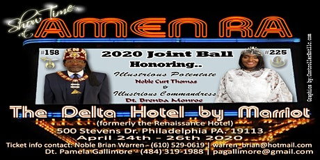 Amen Ra Temple No.158 and Court No. 225 5th Annual Joint Ball-2020 tickets