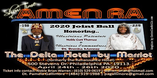 Amen Ra Temple No.158 and Court No. 225 5th Annual Joint Ball-2020