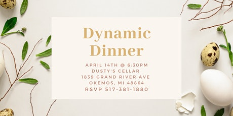 Dynamic Dinner with Okemos Family Chiropractic tickets