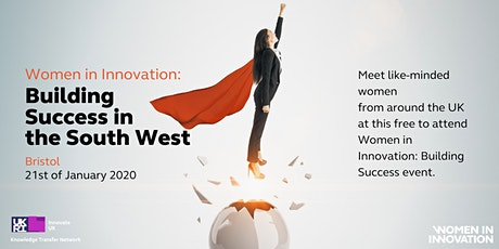 Women in Innovation: Building Success - South West tickets
