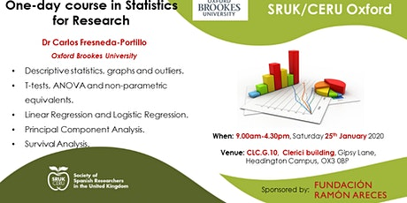One-day course in Statistics for Research tickets