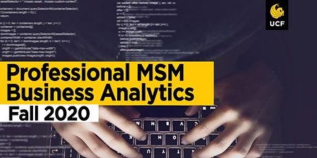 Professional MSM Business Analytics Track Info Session, 1/23 tickets