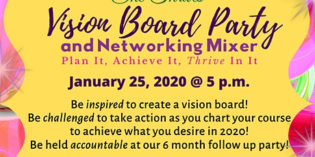 She Thrives Vision Board Party & Networking Mixer tickets
