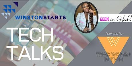 WS Tech Talks: Building Success  in Tech Repair  With The Geek in Heels tickets