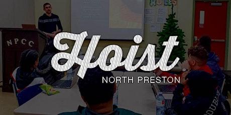 Hoist North Preston: UX Design tickets