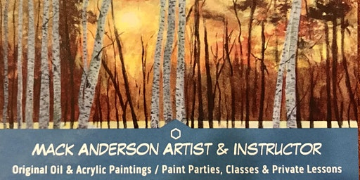 Group Painting Class with Mack Anderson