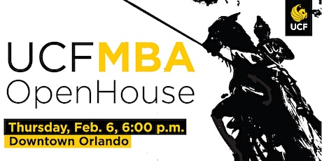 UCF MBA Open House | 02-06-2020 tickets