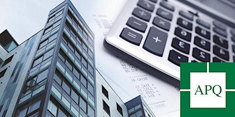 Clinique sur la fixation de loyer APQ 2020 tickets