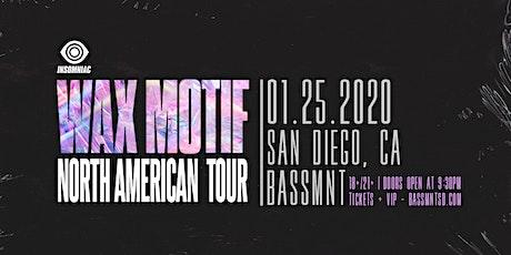 Wax Motif at Bassmnt Saturday 1/25 tickets