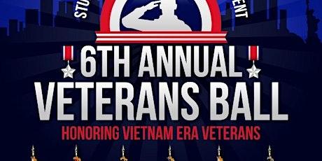 6th Annual Veterans Ball tickets