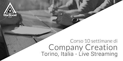 [Torino - Italia in Live Streaming] Company Creation: trasforma la tua idea in un'azienda di successo