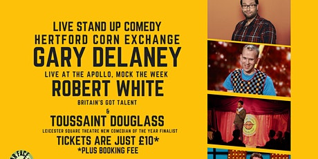 Live Stand up Comedy with Headliners Gary Delaney and Robert White tickets