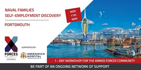 Naval Families - Self Employment Discovery Workshop: Portsmouth tickets