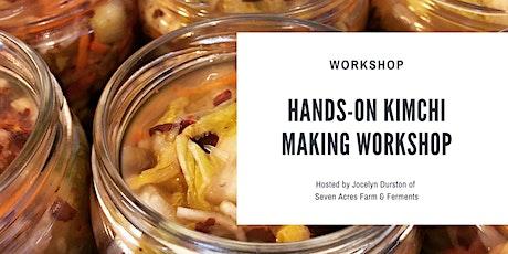 Hands-on Kimchi Making Workshop tickets